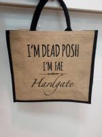 Dead Posh Large Jute Bag - Hardgate